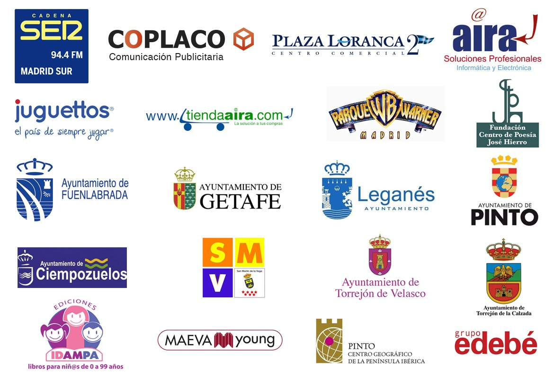 XII Certamen Literario de Cadena SER Madrid Sur. Colaboradores.