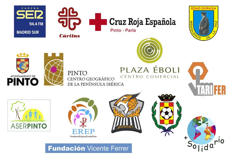 VI campaña 'SER Solidarios Pinto'. Colaboradores.
