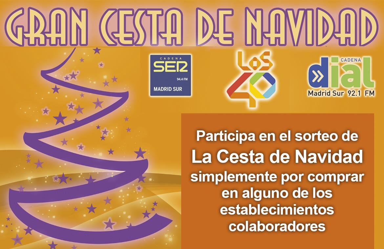 La Cesta de Navidad de SER Madrid Sur 2016/2017
