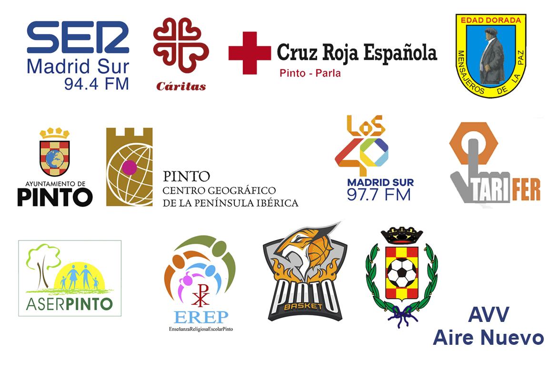 VII campaña 'SER Solidarios Pinto'. Colaboradores.