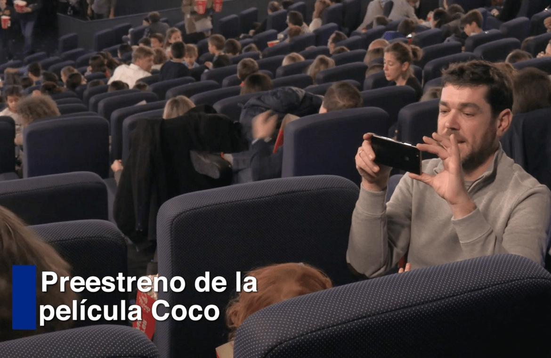 Exitazo del preestreno de 'Coco', la película de Disney Pixar