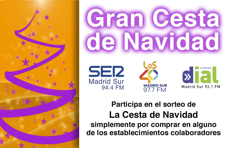 La Cesta de Navidad de SER Madrid Sur 2018